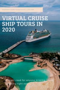 Virtual Cruise Ship Tours 2020